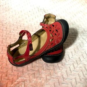 Jambu JBU Wildflower Mary Jane Velcro shoes